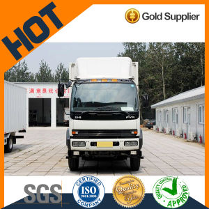 High Quality Qingling 4*2 15t Van Truck Cargo Truck pictures & photos