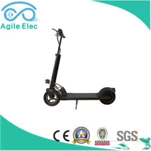 36V 250W Black Foldable Electric Scooter with Battery pictures & photos