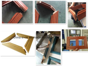 CNC Wood Multi Angle Frame Mortising Machine Tc-828s4 pictures & photos