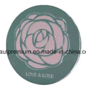 Metal Single Round Rose Mirror L′oreal Audit Make up Mirror BPS036 pictures & photos