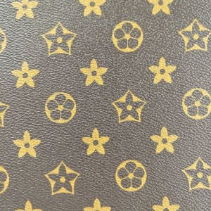 2017 Special Pattern PU PVC Synthetic Handbag Shoe Leather pictures & photos