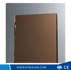 Tinted Reflective Mirror for Decoration and Bathroom Usages pictures & photos