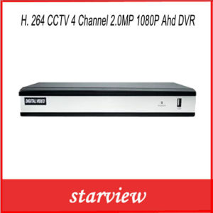 H. 264 CCTV 4 Channel 2.0MP 1080P Ahd DVR pictures & photos