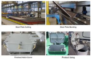 Marine Outfitting Equipment (door, window, ladder, hatch cover) pictures & photos