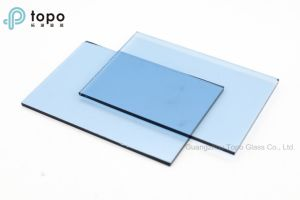 4mm-12mm Medium Blue / Ford Blue Float Window Glass (C-MB) pictures & photos
