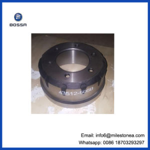 Auto Spare Part Good Quality Brake Drum 43512-5050 Hion Truck pictures & photos