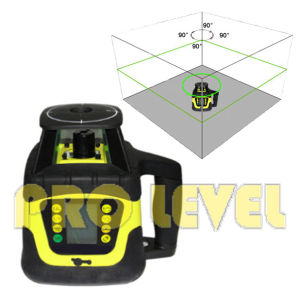 Dual Grade Rotary Laser Level Green Laser (SRE-207G) pictures & photos