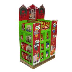 Pop Cardboard Dumpbin Display for Food, Advertising Display Stand pictures & photos