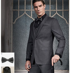 Top Quality Business Suit Custom Made Suit with Cmt Price pictures & photos