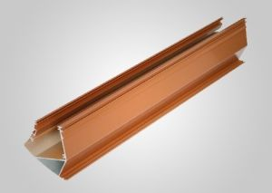 Wooden Grain Windows Extrusions Algeria Aluminium Profile pictures & photos