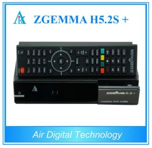 Multistream Decoding DVB-S2+DVB-S2X/T2/C Triple Tuners Zgemma H5.2s Plus Dual Core Hevc/H. 265 Combo Receiver pictures & photos