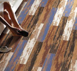 New Design Retro Style Wood Look Porcelain Floor Tile Ceramic Tiles (Brown) pictures & photos