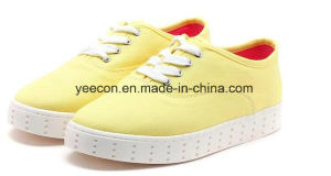 Ladies Shoes Woman Canvas Shoes Canvas shoes Leisure Shoes pictures & photos
