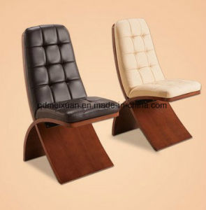 Wholesale Single Leather Chair Wood Chair (M-X3300) pictures & photos