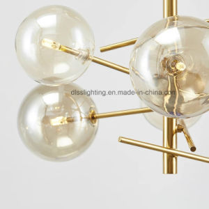 Clear Glass Ball LED Lighting New Design Modern Pendant Lamp pictures & photos
