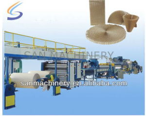 Automatic Continuous Honeycomb Paper Core Production Line pictures & photos