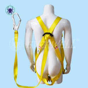 Full Body Harness with One-Point Fixed Mode and Three Adjustment Points (EW0110H) -Set3 pictures & photos