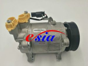 Auto Parts AC Compressor for BMW 6pk Hvcc 123.5mm pictures & photos