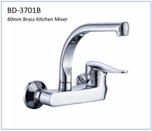 Bd3701b 40mm Brass Single Lever Kitchen Faucet pictures & photos