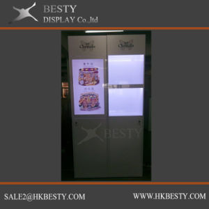 In Stock jewelry Display Showcase with LCD pictures & photos