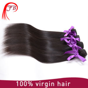 Fashion Style Unprocessed 100 Virgin Brazilian Human Hair Straight Hair pictures & photos