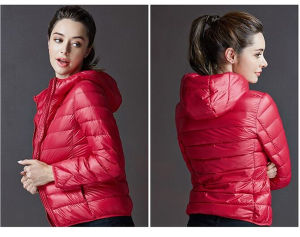 2016 Latest High Quality Ladies Light Quilted Winter Jackets (50594) pictures & photos