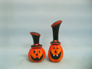 Halloween Pumpkin Ceramic Arts and Crafts (LOE2382-A12) pictures & photos