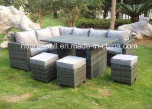 8 Seater Rattan Garden Patio Corner Dining Outdoor Furniture pictures & photos