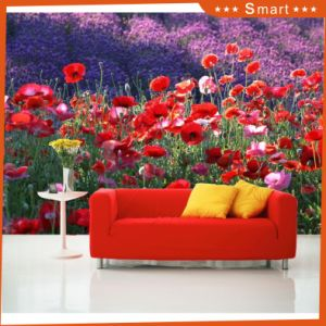 Hot Sales Customized Flower Design 3D Oil Painting for Home Decoration (Model No.: Hx-5-057) pictures & photos