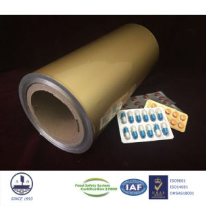Cold Form Aluminum Blister Foil for Pharmaceutical Packaging Alloy 8021 pictures & photos