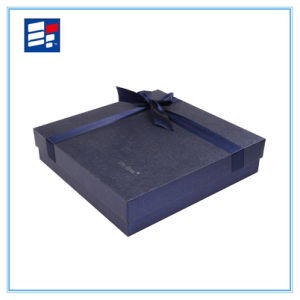 Custom Black Magnetic Luxury Cardboard Packaging Gift Box pictures & photos