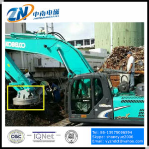 High Working Frequency Magnetic Lifter for Excavator Installation Emw-80L/1-75 pictures & photos