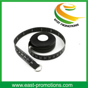 Black Plastic Waist Mini Body Tape Measure for Sport pictures & photos