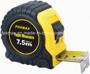High Quality Steel Measuring Tape with Rubber Coat Fmt-012 pictures & photos