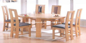 Oak Dining Table Set  (ADTSE001)