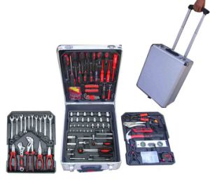 186PCS Tools Set in Aluminium Case, Car Tools Kit