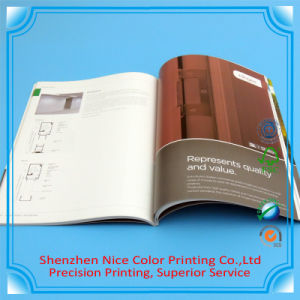 Professional Book/Album/Brochure/Magazine/Leaflet/Flyer/Poster Printing Factory/ Custom Brochure Printing with Soft Cover