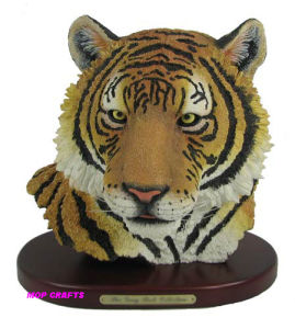 Polyresin Tiger, Resin Tiger Sculpture pictures & photos