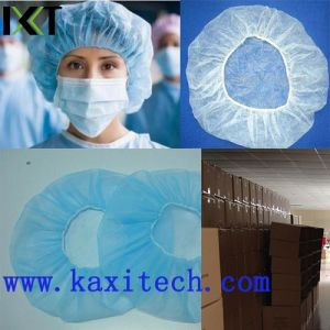 Disposable Non Woven Bouffant Clip Cap Stock Supplier Kxt-Bc15 pictures & photos