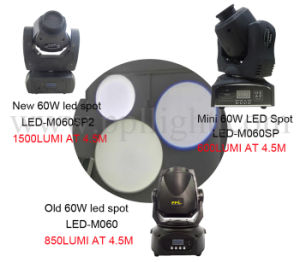 Disco/DJ/Bar Mini 60W LED Spot Moving Head Light pictures & photos