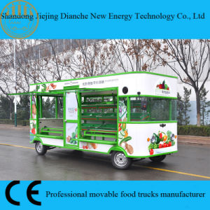 2017 New Designed Catering Food Trucks for Selling Fruit and Vegetables pictures & photos