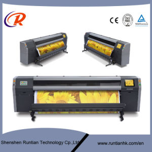 New 3.2m Flora Printer with 4 PCS Konical Print Head pictures & photos