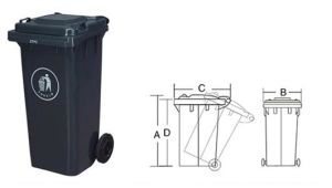 Garbage Bin120L