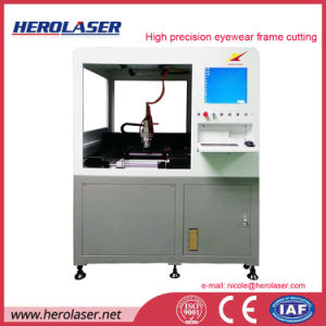 Professional Eyewear Frame Laser Cutting Machine with One Ganged Solution Available pictures & photos