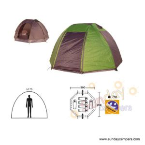 6 Person Camping Tent (SCC-911) pictures & photos
