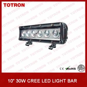 """LED Light Bar 10"""" 30W Single Row Series (TLB1030) pictures & photos"""