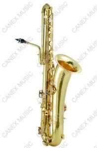 Bass Saxophone (SABB-L) /Saxophone/Saxophone with Case pictures & photos