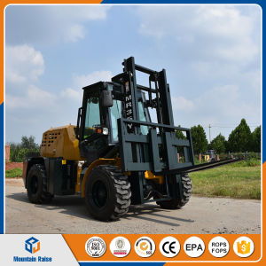 3.5ton All Rough Terrain Forklift with 3-5m Lifting Height pictures & photos