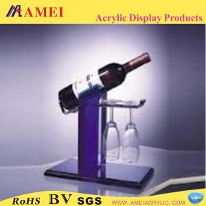 Acrylic Wine Bottle Stand (AAL-24)