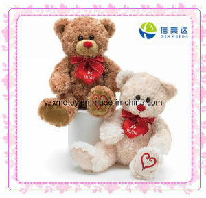 Plush Valentine′s Day Bear Soft Toy (XMD-0085C) pictures & photos